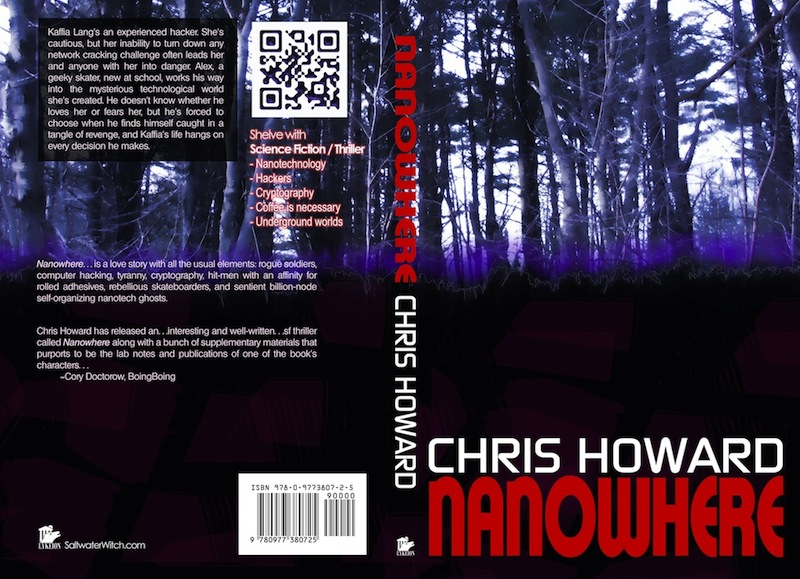 Nanowhere book cover art