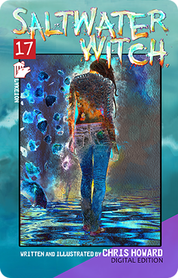Saltwater Witch Graphic Novel by Chris Howard