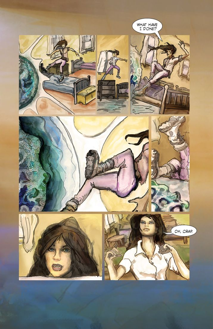 Saltwater Witch Comic - Chris Howard